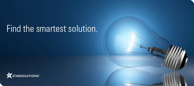 Starsolutions: Find the smartest solution.